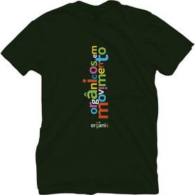 Camiseta Unissex Orgânicos Em Movimento