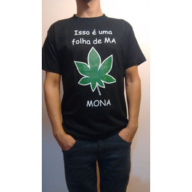 Camiseta Unissex Preta Leia Descrição P/ Escolher Tamanhos