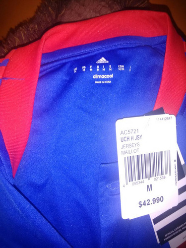 camiseta universidad chile