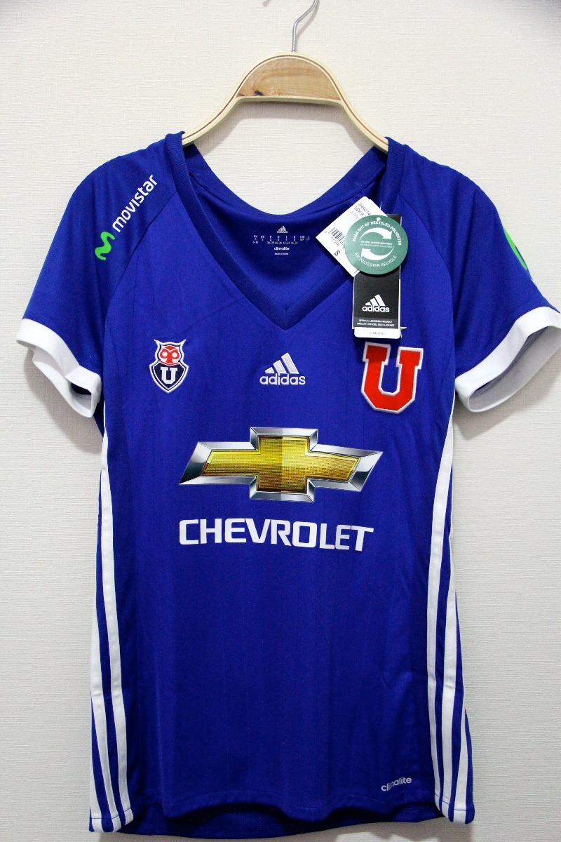 Universidad Adidas Chile 2017 De Mujer Camiseta rhsCQxtd