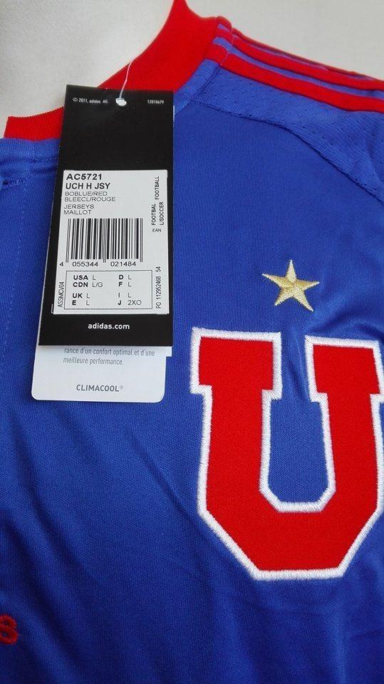 camiseta universidad de chile 2016 titular adidas original. Cargando zoom. 43662ca6895f2