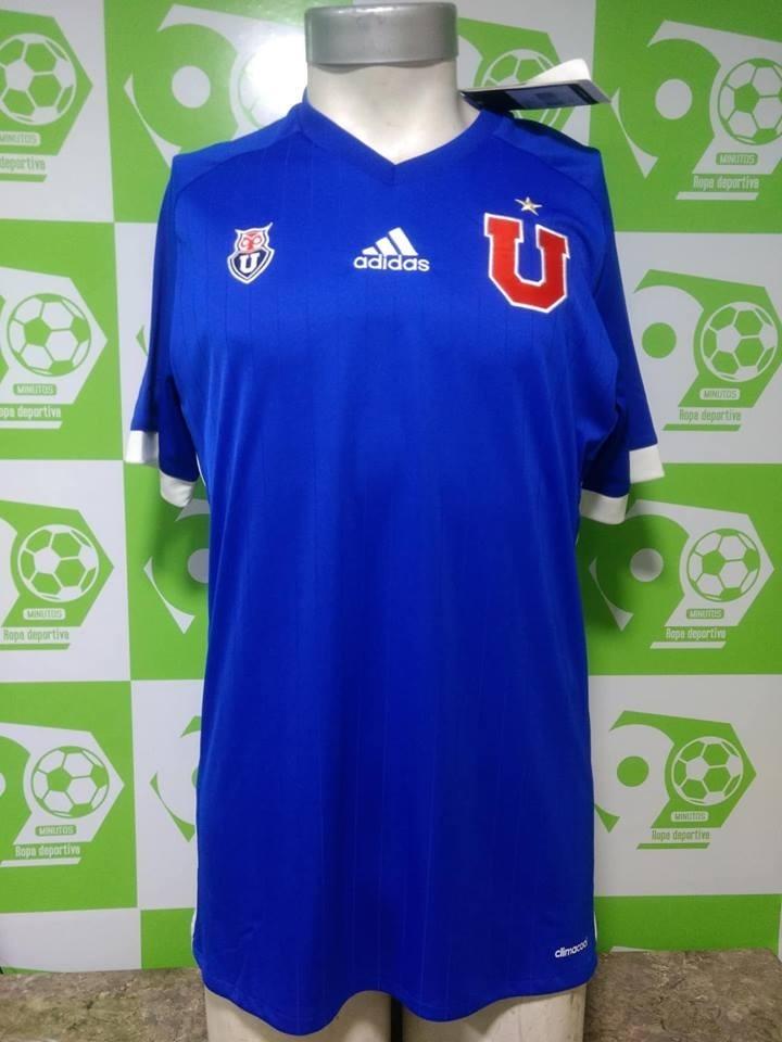 camiseta universidad de chile 2017 azul sin sponsor adidas. Cargando zoom. 255a48da363aa
