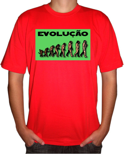 camiseta universitária biologia evolução