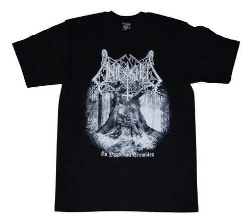 camiseta unleashed rock activity importada talla m