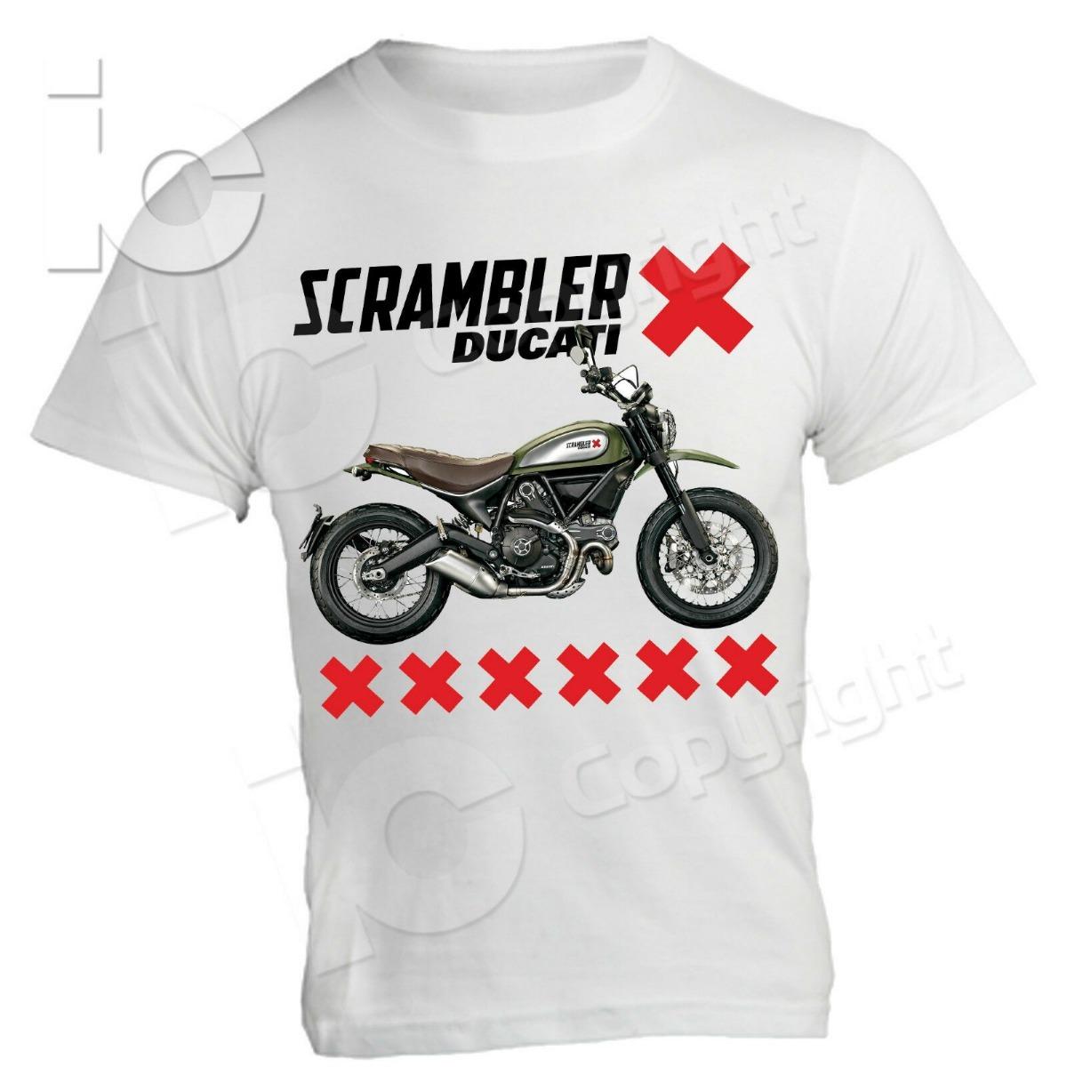 Camiseta Urbana Moto Ducati Scrambler Icono Clásico -   55.000 en ... c34d3ee05bf