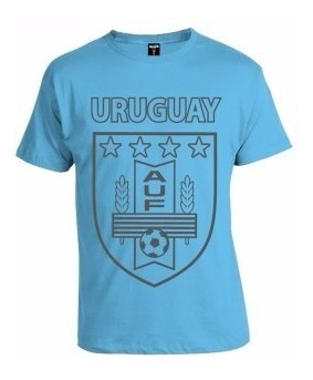 camiseta uruguay estampada a u f
