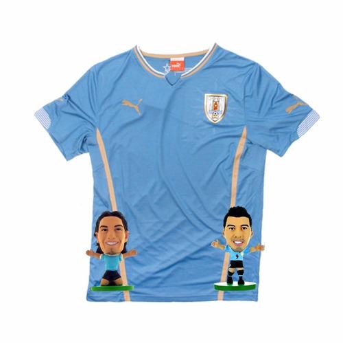 camiseta uruguay jr 2014 puma + regalo