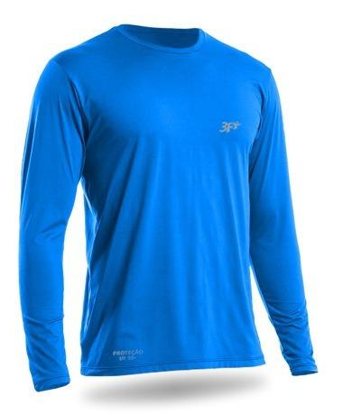 f04fcf81c7 Camiseta Uv Com Proteção Solar Fps 50+ Manga Longa - R  40