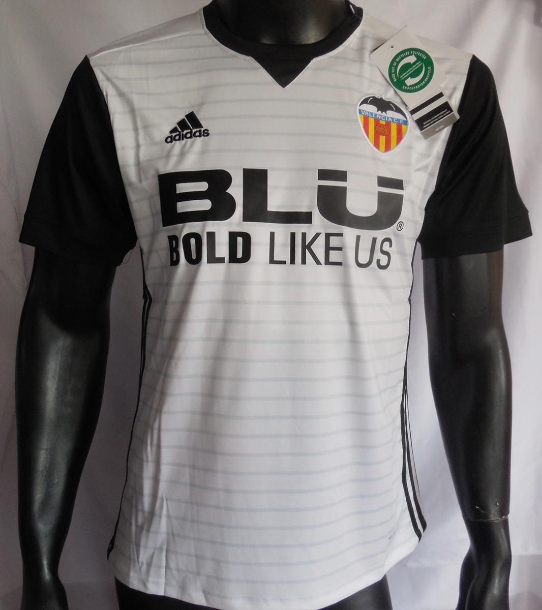 official photos 4dc6f bbb4a Camiseta Valencia Cf 2017 - 2018 Home adidas