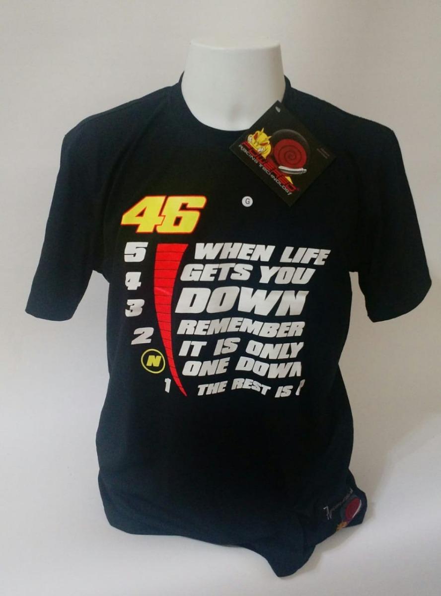 6ad93c069daac camiseta valentino rossi the doctor 46 motogp gear. Carregando zoom.