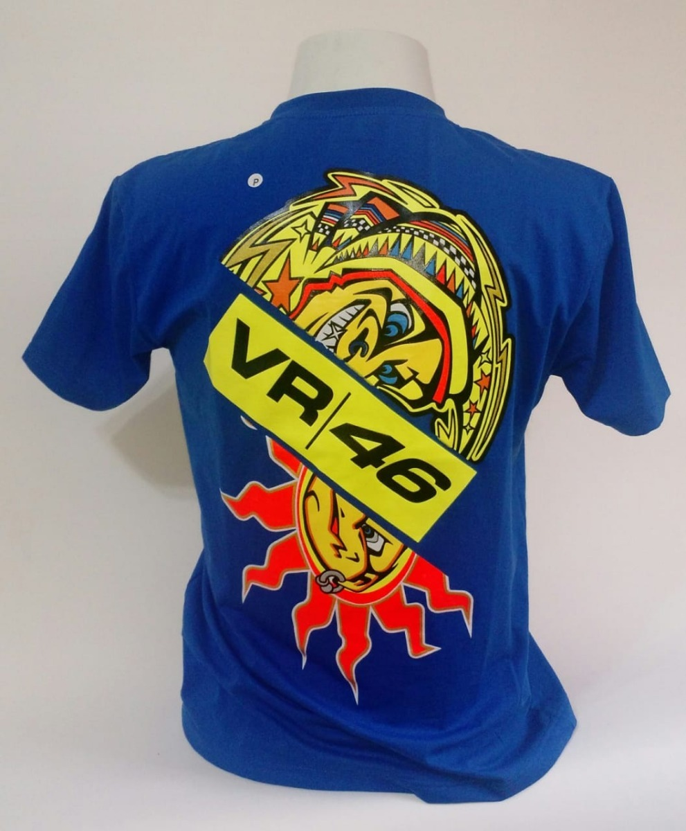 12a40dd911ba0 camiseta valentino rossi the doctor 46 motogp powered. Carregando zoom.