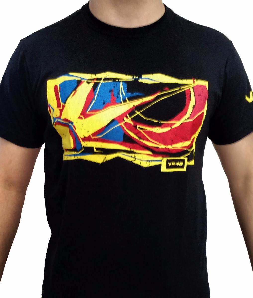 ba1ee2a89 Camiseta Valentino Rossi The Doctor Vr 46 Moto Gp Sol lua - R  70