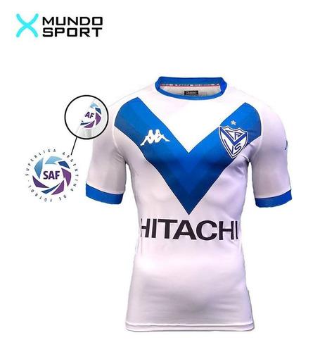 camiseta velez kappa player titular + numero +parche saf