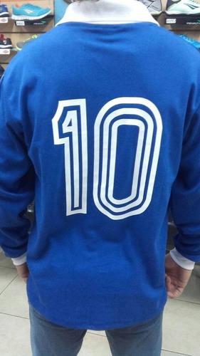 camiseta velez sarsfield manga larga