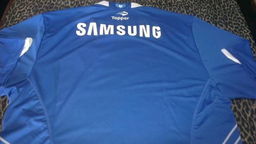 camiseta velez sarsfield topper original samsung 2da