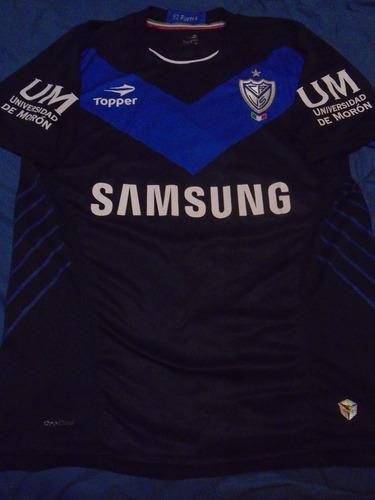 camiseta vélez topper 2013 2014 suplente negra samsung t. m