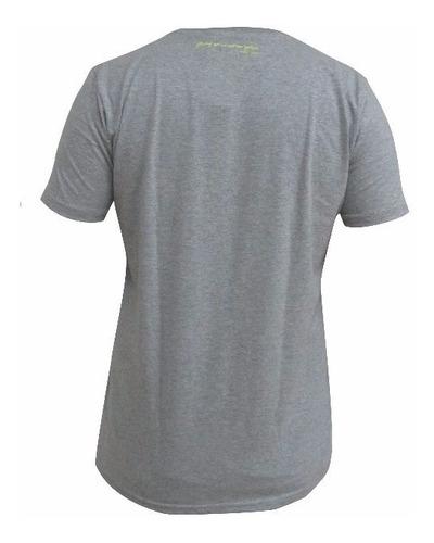 camiseta venum classic careca cinza amarela musculação mma