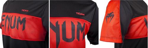 camiseta venum competitor dry tech red devil