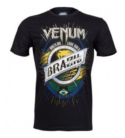 camiseta venum keep rolling preta