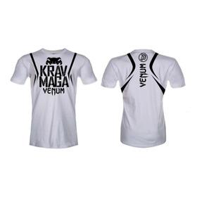 Camiseta Venum Krav Maga Branca