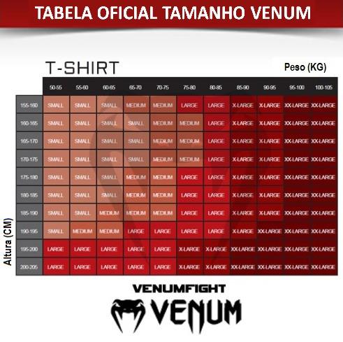 camiseta venum thai chok mma musculação crossfit academia