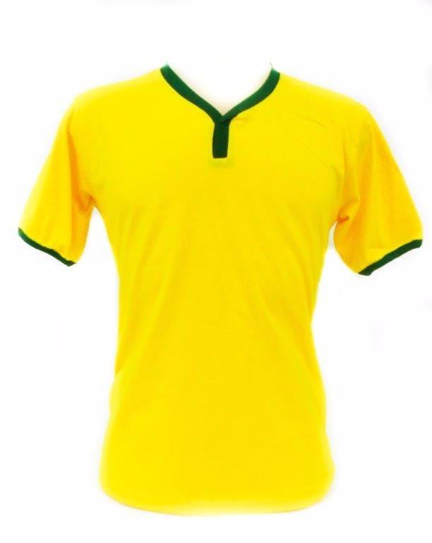 f82b067dbc11f Camiseta Verde E Amarela Feminina Brasil Seleção Baby Look - R  8