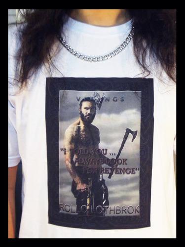 camiseta vikings rollo lothbrok