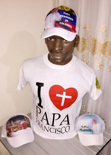 camiseta visita papa francisco
