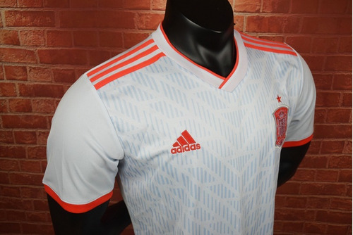 camiseta visitante seleccion españa mundial andres iniesta