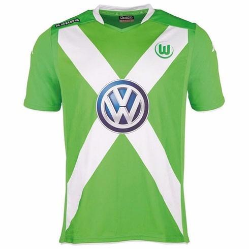 camiseta vlf wolfsburgo kappa original