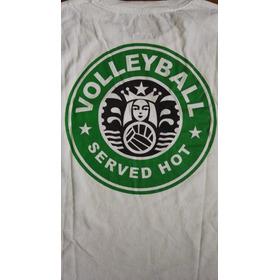 Camiseta Volleyball Starbucks