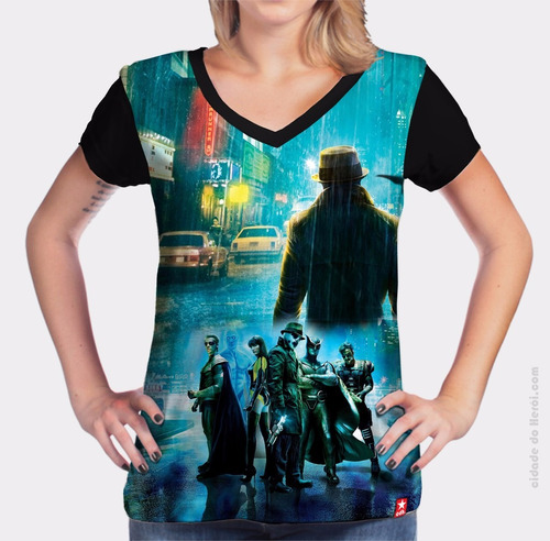 camiseta watchmen - filme - cidade do herói