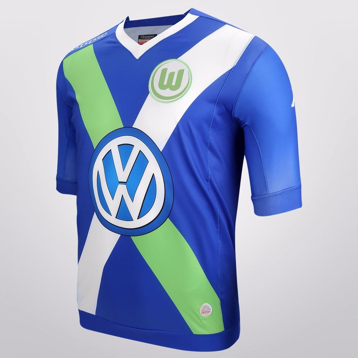 camiseta wolfsburgo kappa alterna 2015 oficial bundesliga. Cargando zoom. b8994baee8228