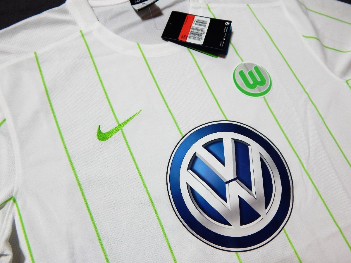 8a180e50b00ff camiseta wolfsburgo original alemania bundesliga. Cargando zoom.