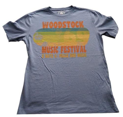 camiseta woodstock importada rockactivity talla s
