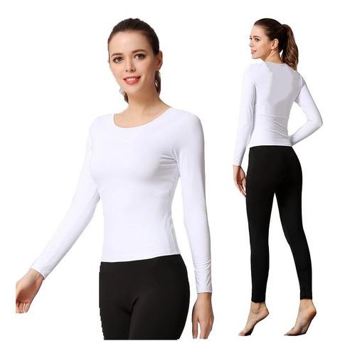 camiseta y pantalon invierno clima frio ropa termica fleece