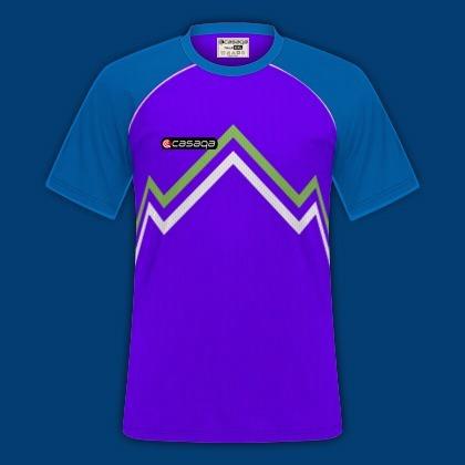 Camiseta Y Short Sublimado. Ambos Personalizados -   550 7080aeeba8ad1