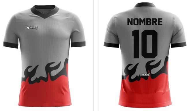 f72459de1818f Camiseta Yakka Diseña Pedido Futbol Nombre Numerada Pack 11 ...