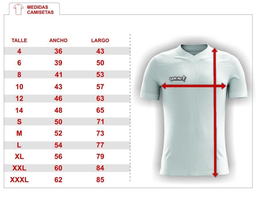 4daf46870653b camiseta yakka diseña pedido futbol nombre numerada pack 11. Cargando zoom.