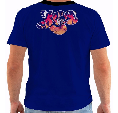 camiseta yes - concert poster - live spring tour m187