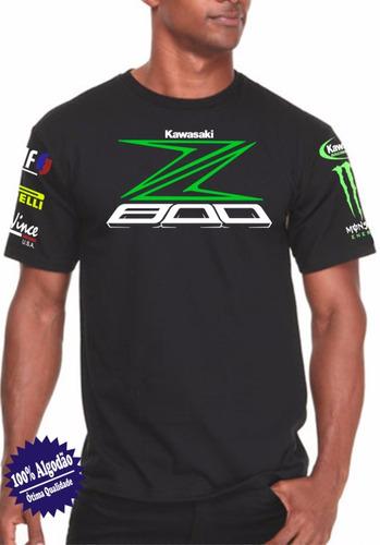 camiseta z800 monster kawasaki