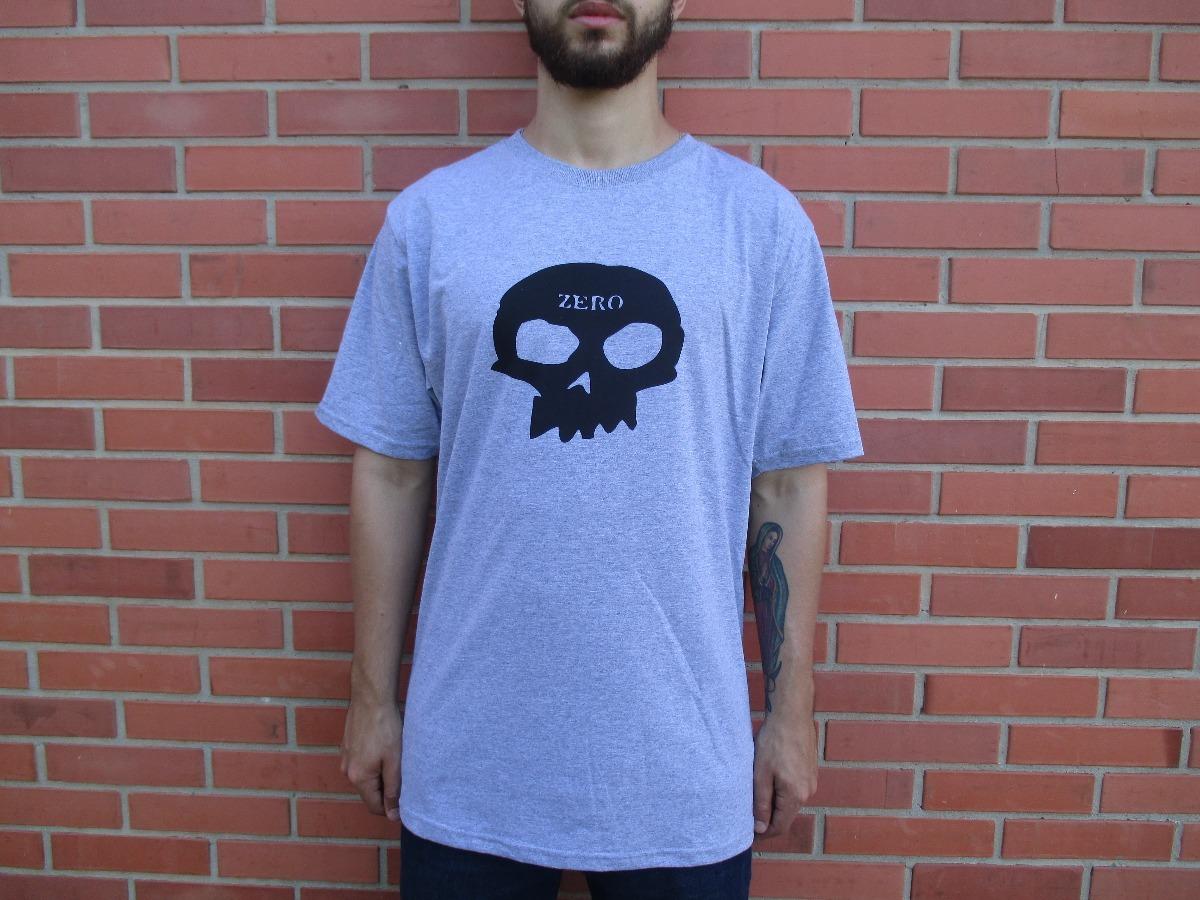 7b03900d6 camiseta zero skateboards logo cinza mescla original. Carregando zoom.