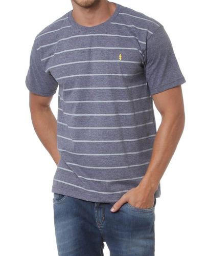 camiseta zoomp cinza est polo
