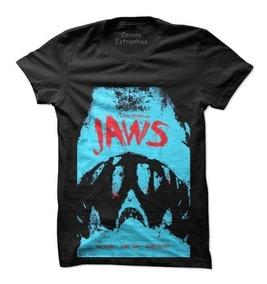 83b655ec40eaea Camiseta,camisa Tubarão Filme Cult Poster Infantil E Adulto