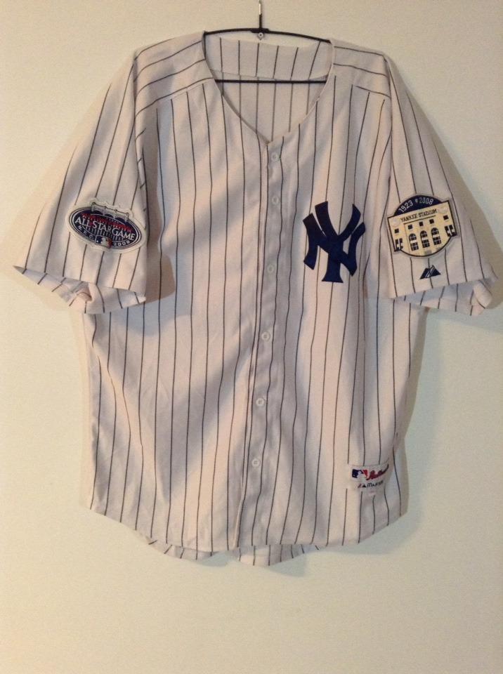 b0ab9a1bb camiseta(casaca) new york yankees majestic de coleccion. Cargando zoom.
