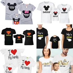 más cerca de amplia gama más baratas Camisetas 100% Algodon X4 Uds. Mario Bros Familia