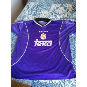 5dc644562b807 Camiseta Roberto Carlos Real Madrid - Camisetas en Mercado Libre ...
