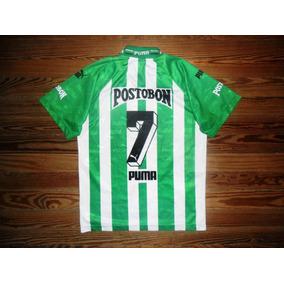 5ba4d968c35ea Camiseta Atletico Nacional Medellin - Camisetas de Clubes ...