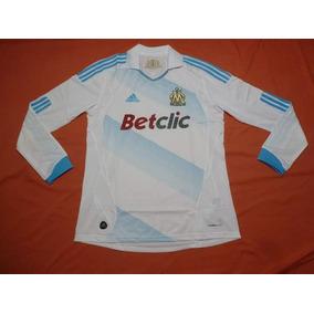 dbcbd38a39315 Camiseta Olympique Marsella Mangas Larga - Fútbol en Mercado Libre Argentina