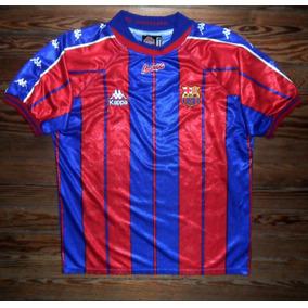 1255f03379051 Camiseta Del Barcelona Kappa - Camisetas de Clubes Extranjeros ...
